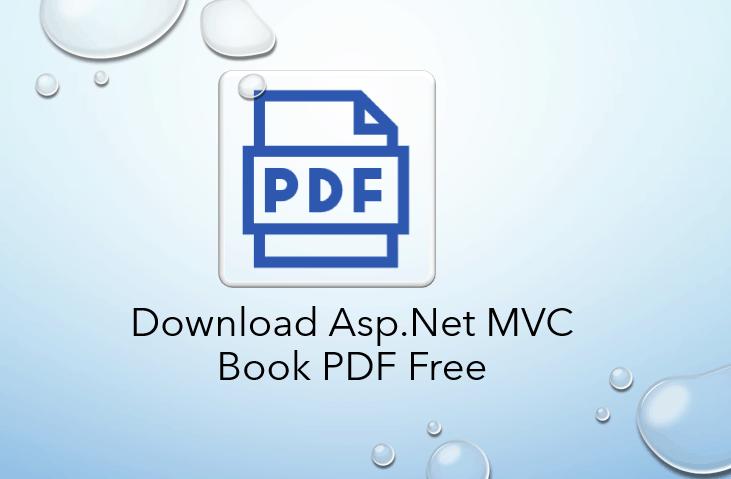Download Asp.Net MVC Book PDF Free