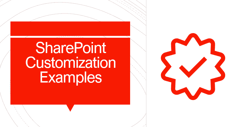 sharepoint customization examples