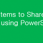 Add item to SharePoint list using PowerShell