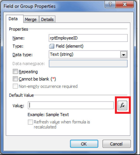 Add an auto number to repeating table rows in InfoPath 2013