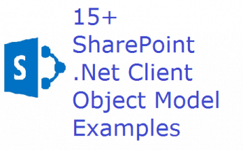 SharePoint .Net Client Object Model Examples