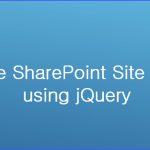 hide sharepoint site title