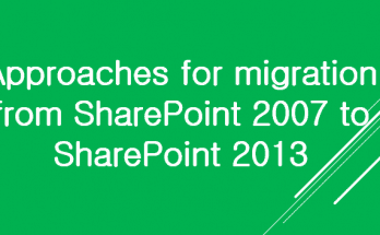 moss 2007 to SharePoint migration approach