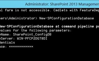 The specified user username is a local account. Local accounts should only be used in standalone mode error in SharePoint 2013