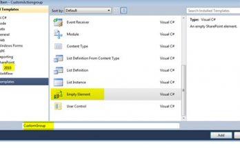 Create custom action group using visual studio 2010 SharePoint 2010