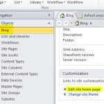 Filtering blog site home page using custom column in post list for SharePoint 2013