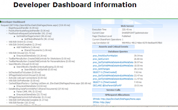 Enable Developer Dashboard in SharePoint 2013
