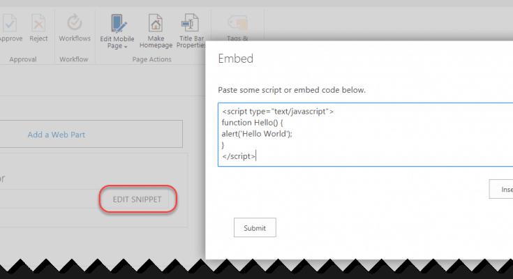 script editor web part sharepoint online