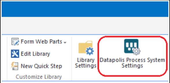 Create List Workflow using Datapolis Process System