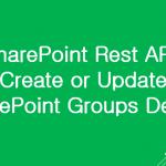 sharepoint rest api create sharepoint group