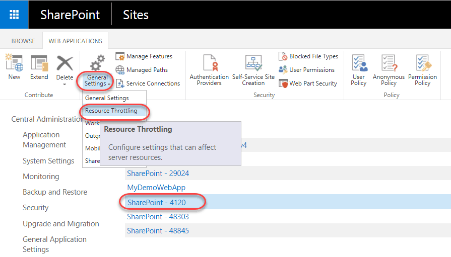 Solved] The server is busy now  Try again later in SharePoint 2013