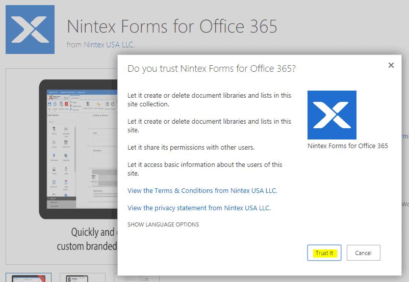 sharepoint nintex forms