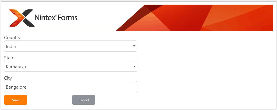 nintex responsive forms cascading dropdown