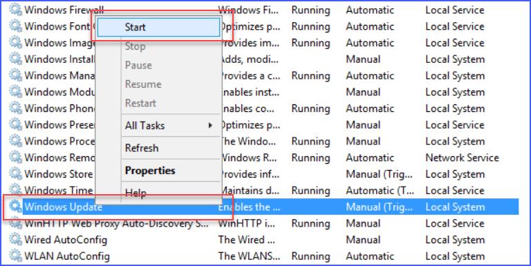 appfabric 1.1 windows update service must be in running state
