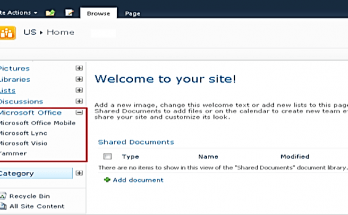 Accordian style leftnavigation menu sharepoint2010.png