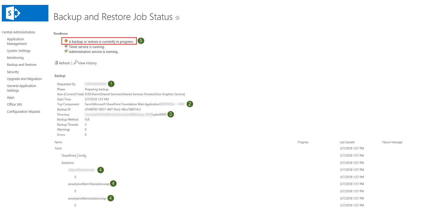 Backup and Restore Content DB in SharePoint 2013 online