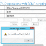 CRUD Operations with ECMA in SharePoint 2013 and 2016