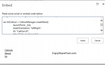 custom callouts in SharePoint 2013