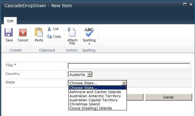 SharePoint 2010:Cascading Dropdown for Lookup with more than 20 items