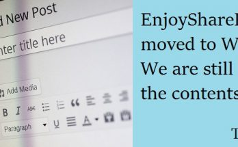 EnjoySharePoint moved to wordpress