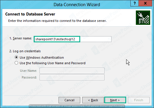 Excel Service to import External DB Using Secure Store connection in sharepoint 2010