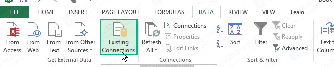 excel service to import external data using secure store connection