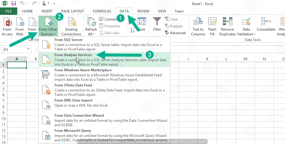 generate pivot table in excel