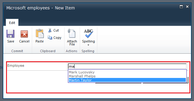 Fields Autocomplete for SharePoint 2010 using jQuery SPServices