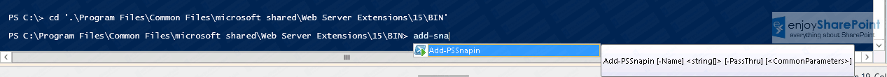 Get-SPFARM is not recognized as the name of a cmdlet in PowerShell ISE Tutorial