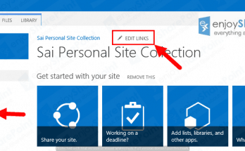 Hide Edit Links option in SharePoint 2013 or SharePoint 2016