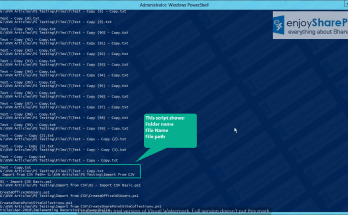 Implementing Recursion in PowerShell