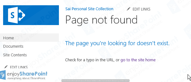 Replace default PageNotFoundError.aspx with Custom Error Page in SharePoint 2013