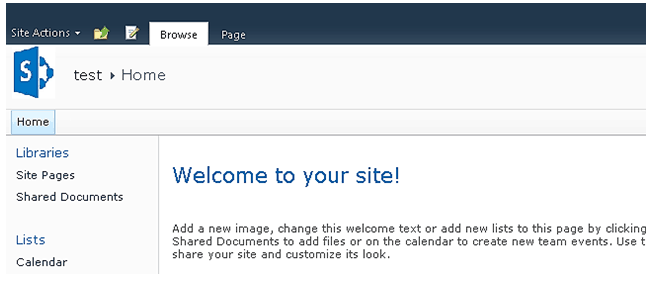 Changing Of SharePoint 2010 Custom Site Icon on Web Part Page