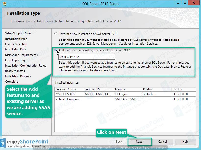 configure SSAS in SQL Server 2012