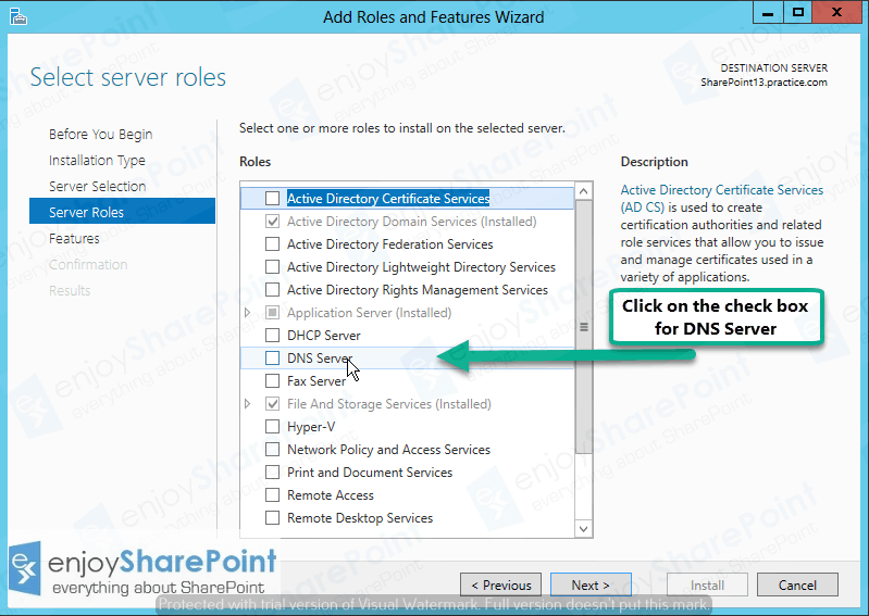 windows server 2012 dns configuration step by step