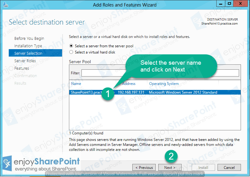 configure dns in windows server 2012