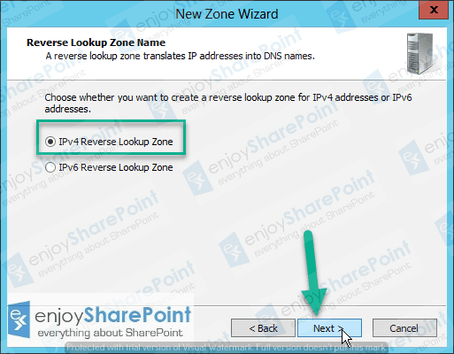 configure forward lookup zone server 2012