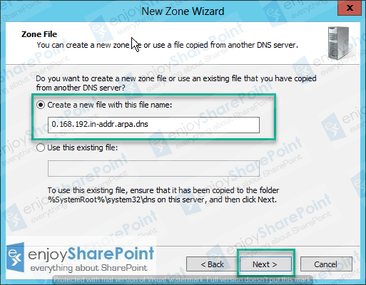 configure forward lookup zone windows server 2012