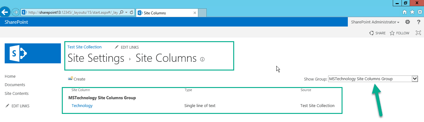 create site column in sharepoint 2013 using powershell