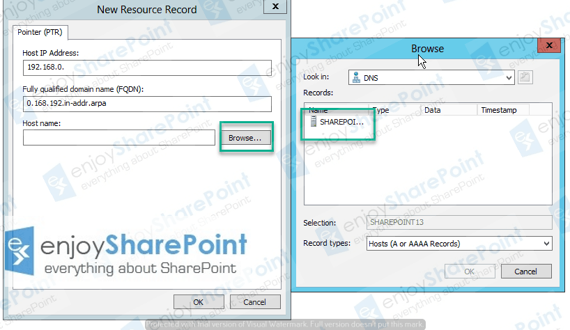 create reverse lookup zone server 2012 r2