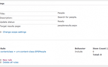 define search scope sharepoint 2010