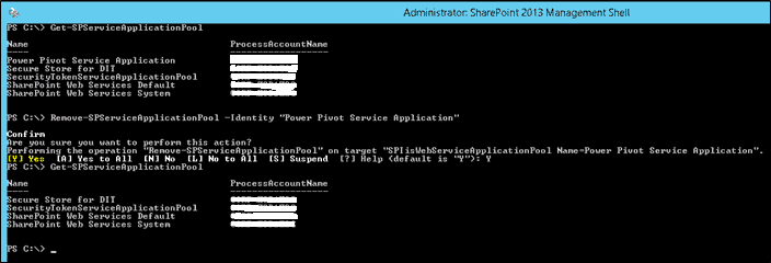Delete Hidden Web Application in SharePoint 2013 using PowerShell