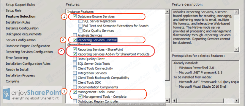sql server reporting services sharepoint 2016