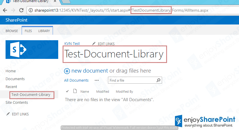 change list url in sharepoint 2013
