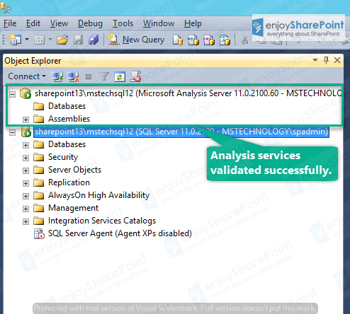 how to install analysis services in sql server 2016