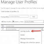 how to update user email address sharepoint 2013