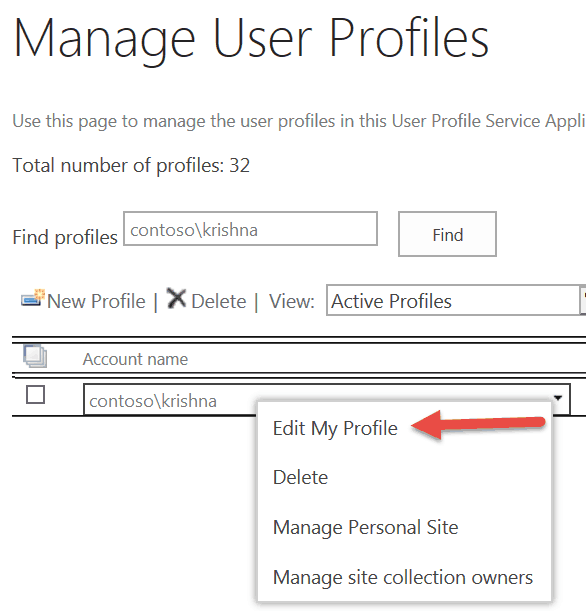 how to update user email address sharepoint 2016