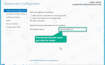 install active directory windows server 2012 r2 step by step