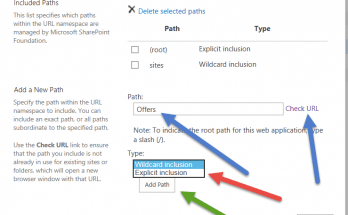 managed path sharepoint 2013