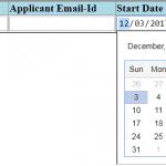 set default value to datetimepicker sharepoint 2013
